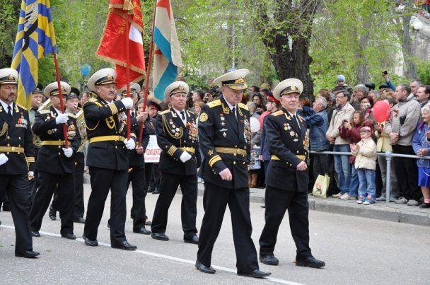 Севастополь отметил 9 мая международным Парадом Победы