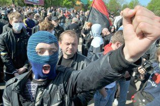 ПР пропонує арештовувати тих, хто ховає обличчя на мітингах