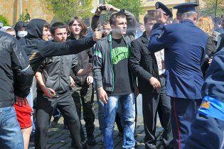 Во Львове начались аресты националистов по делу 9 мая