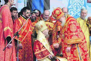 Патриарха Кирилла в Харькове встретили ковром из роз и обедом в гольф-клубе