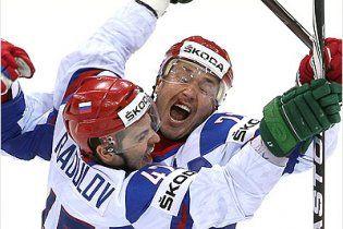 Росія вирвала в Канади путівку у півфінал чемпіонату світу (відео)