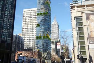 """В Мельбурне построят первую в мире """"вертикальную улицу"""""""