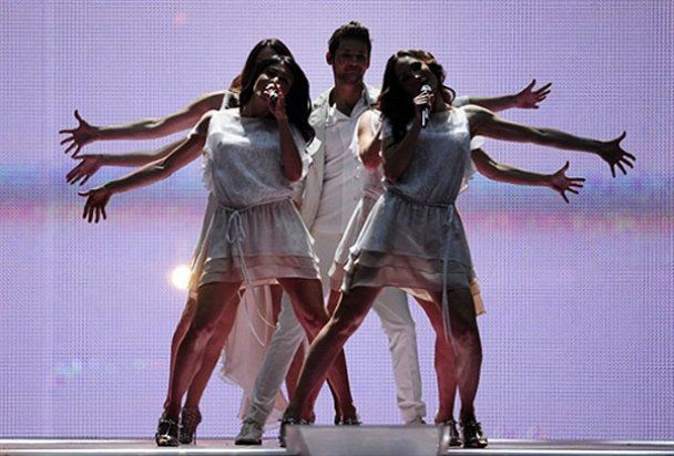 """На """"Евровидении-2011""""  победил Азербайджан"""