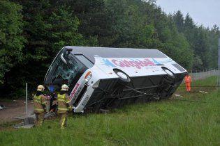 Автобус с немецкими детьми попал в аварию в Словении