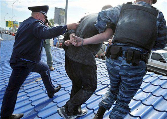 Бійка під час знесення ринку Лісовий у Києві_6