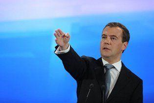 Медведев назвал позицию Украины по газу иждивенчеством