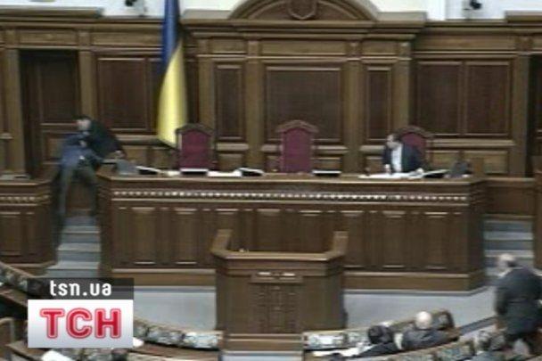 Мартынюк пригрозил крикливым депутатам: хотите быть на месте Ляшко?