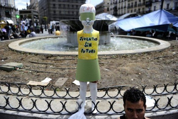 Протести молоді в Іспанії_8