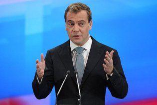 """Медведев заявил, что правильно говорить - """"на Украину"""""""