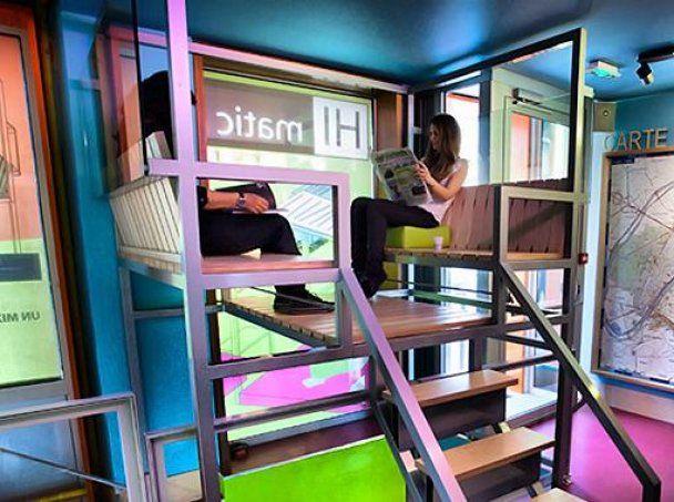 У Парижі відкрився перший у світі хай-тек готель
