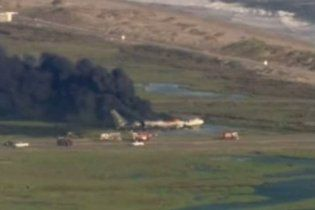 """Во время взлета в Калифорнии взорвался военный """"Boeing-707"""""""