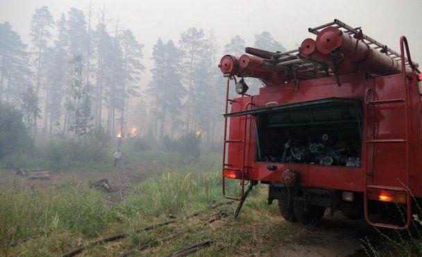 Росію охопили сильні пожежі, горить 45 тисяч гектарів лісу
