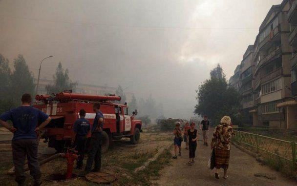 Россию охватили сильные лесные пожары