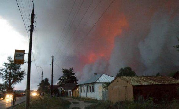 Лісові пожежі в Росії_11