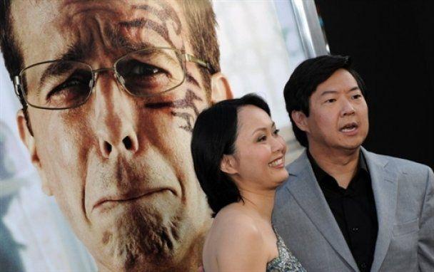 """Майк Тайсон пришел на премьеру """"Похмелье в Вегасе-2"""""""