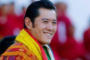 31-річний король Бутана одружується зі звичайною студенткою