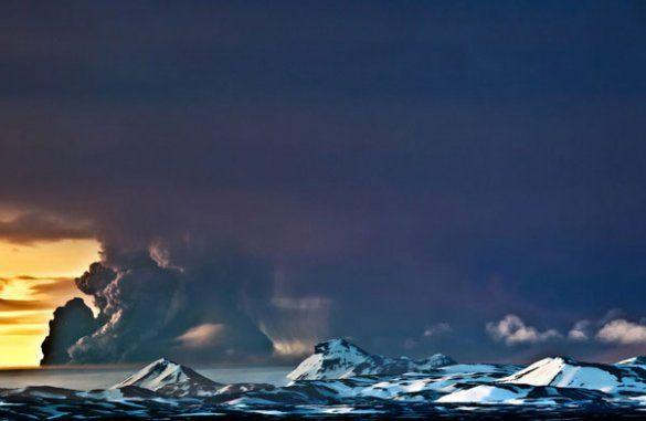 Виверження вулкану Грімсвотн в Ісландії_22