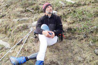 Одноногий альпинист покорил Гималаи