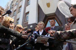 Тимошенко: мене не арештували тільки під тиском людей