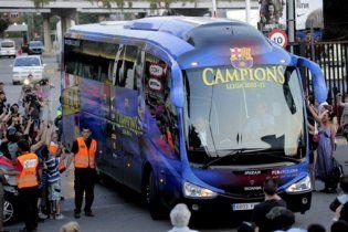 """""""Барселона"""" прилетіла у Лондон на фінал Ліги чемпіонів"""