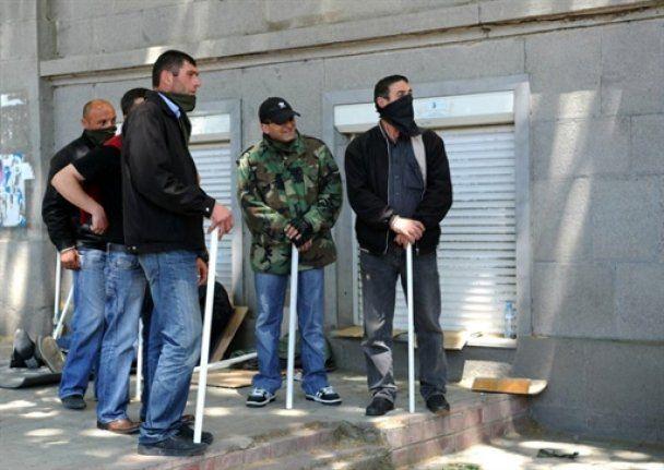 Кровавый разгон митинга оппозиции в Тбилиси