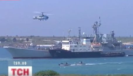 Украина и Россия провели совместные военные учения