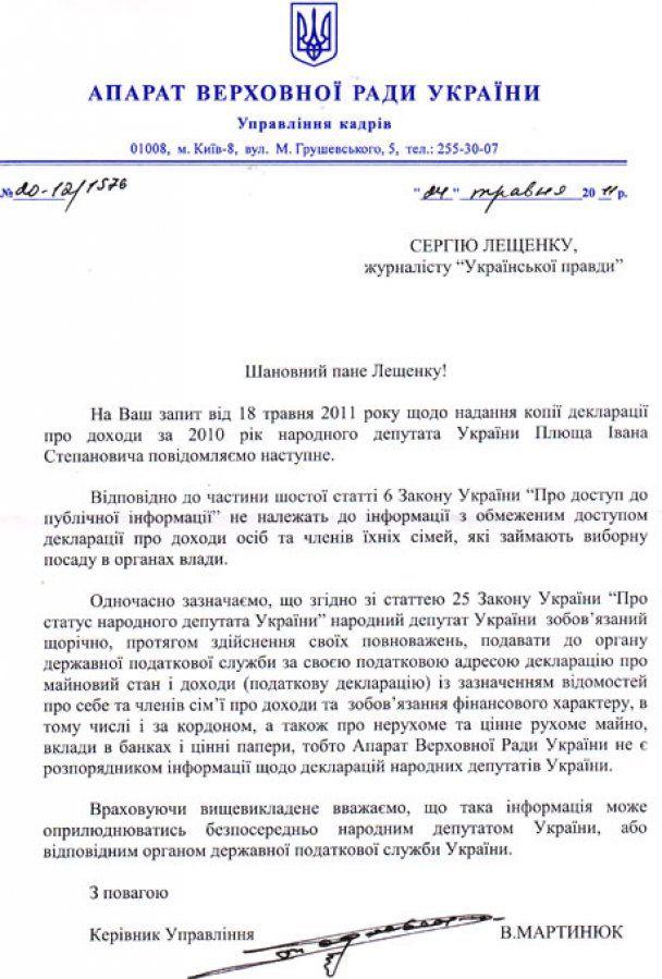 Рада відмовилася розсекречувати доходи депутатів