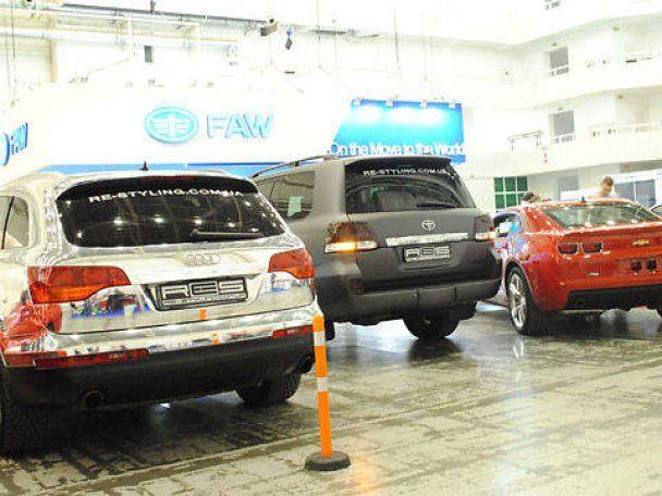 Международный автосалон SIA'2011 в Киеве
