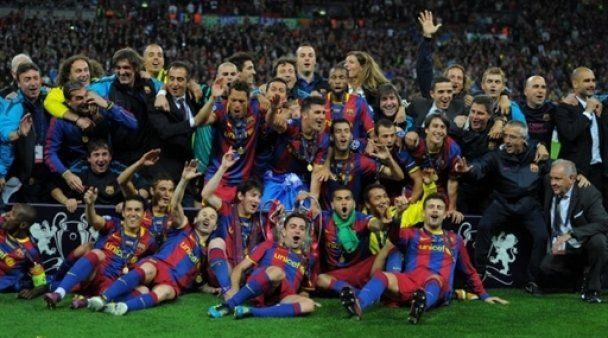 """""""Барселона"""" виграла Лігу чемпіонів"""
