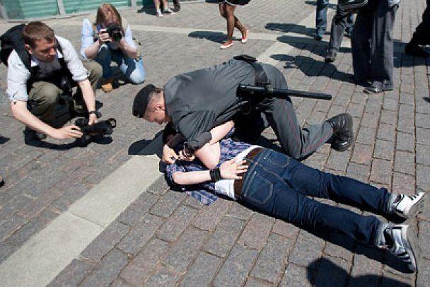 Гей-парад у Москві: затриманий активіст вимагає від США засудити владу РФ