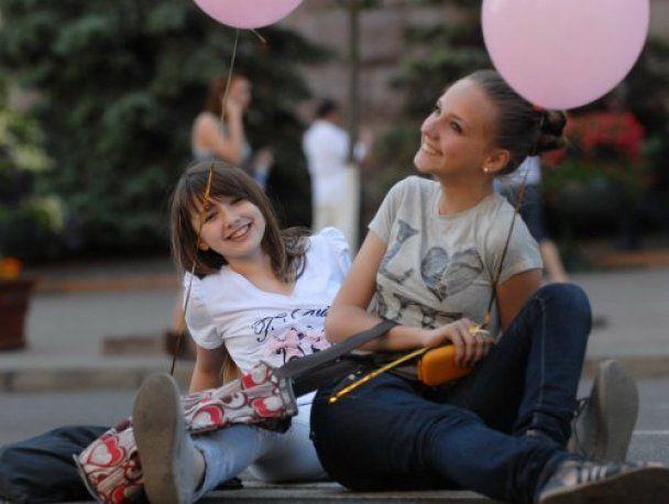 Київ відзначив день народження забавами та феєрверками