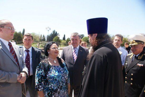 Глава російської царської династії вперше відвідала Україну