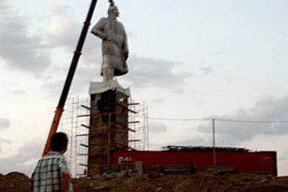 В Таджикистане демонтирован крупнейший памятник Ленину в Центральной Азии