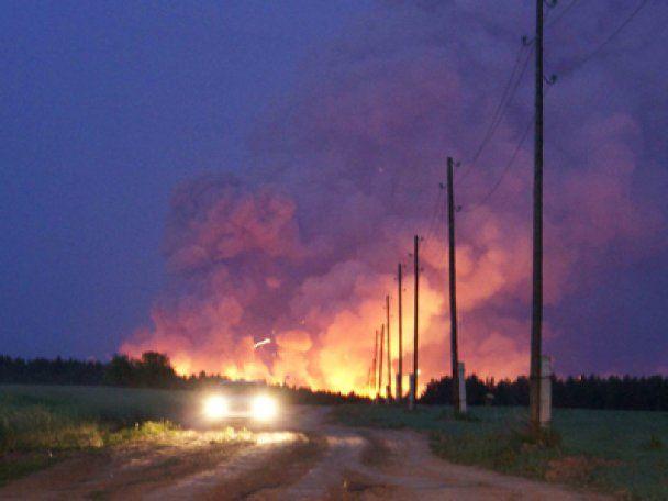 В России взрываются склады с боеприпасами: эвакуированы 13 тысяч жителей
