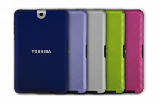 Toshiba анонсувала вихід планшета-конкурента iPad