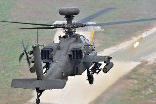 ВВС НАТО начали применять против войск Каддафи вертолеты Apache
