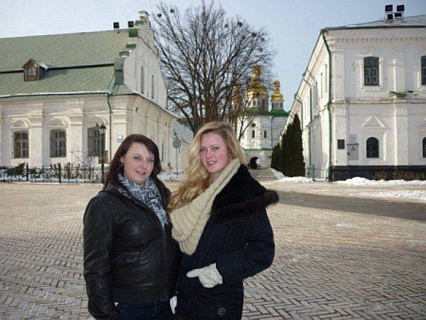Падчерица Жени Тимошенко побывала в Украине