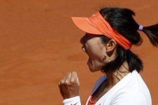 На Лі обіграла Скьявоне у фіналі Roland Garros