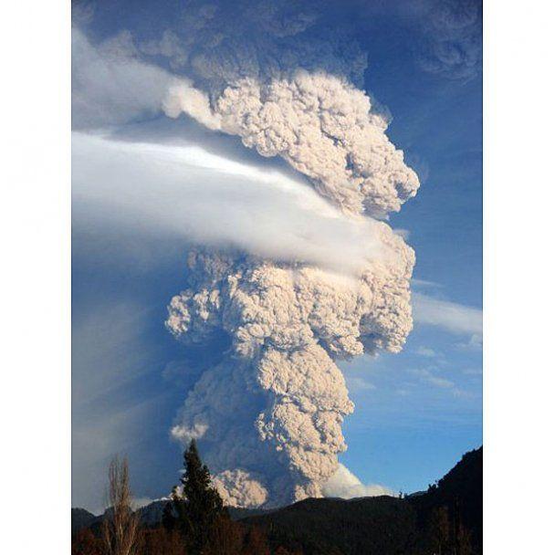 Вулкан Пуйеуе знову порушив авіасполучення в Австралії