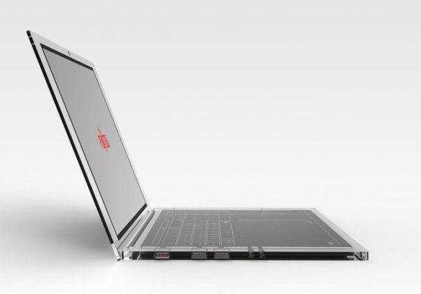 Создан концепт ноутбука, который работает без зарядки