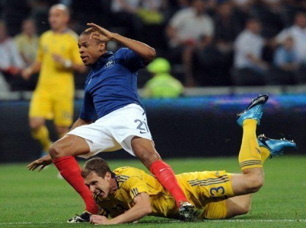 Украина разгромно проиграла Франции (видео)