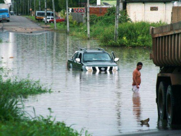 На севере Бразилии произошло сильнейшее за последние 35 лет наводнение
