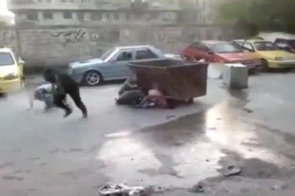 Шокуюче відео: охорона палестинських лідерів влаштувала бійню в таборі біженців