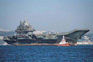 """У Пекіні зізналися, що радянський крейсер """"Варяг"""" переробили в китайський авіаносець"""