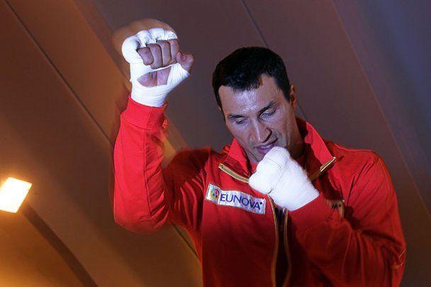 Володимир Кличко готується до бою з Хеєм в Альпах