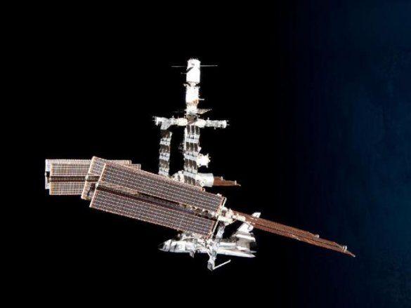 МКС, шатл Endeavour, фото Паоло Несполі_7