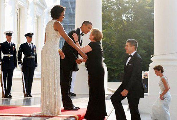Барак Обама влаштував Ангелі Меркель розкішний прийом