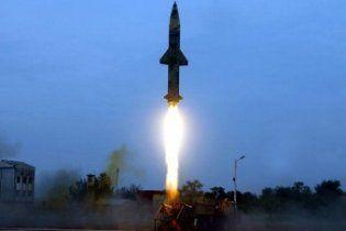 Індія випробувала балістичну ракету