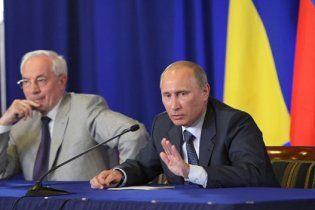 Азаров вирішив не піднімати тему ЄЕСУ у розмові з Путіним