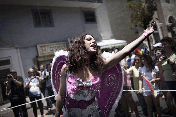 Многотысячный гей-парад Gay Pride в Тель-Авиве